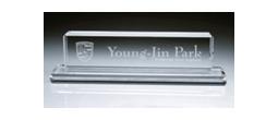 Glass & Crystal Desk Nameplates