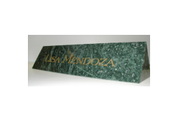 Marble Desk Name Plates