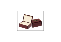 Rosewood piano-finished jewelry box