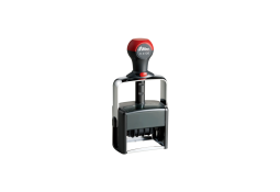 Shiny H-6106 heavy duty self-inking date stamp