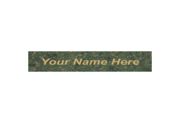 NP159 name plates are available in several eye-catching colors.